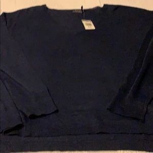 POLO RALPH LAUREN XL NAVY SWEATER